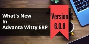 Small Business Software Advanta Witty ERP Update 6.0.8