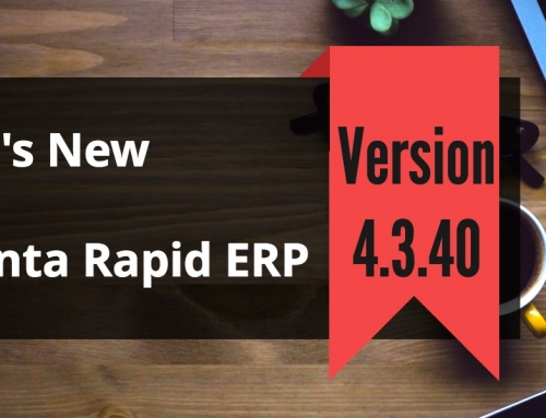 HR Management Software Advanta Rapid ERP Update 4.3.40