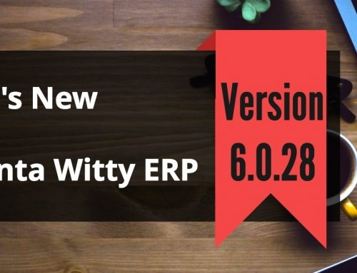 VAT Accounting Software Advanta Witty ERP Update 6.0.28