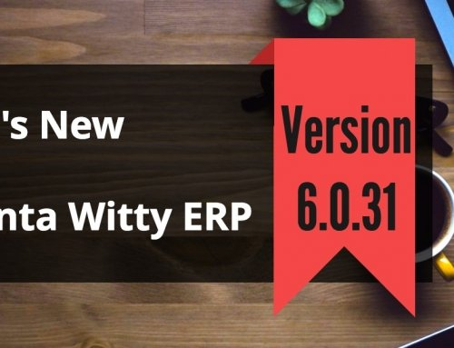 Business Software Advanta Witty ERP Update 6.0.31