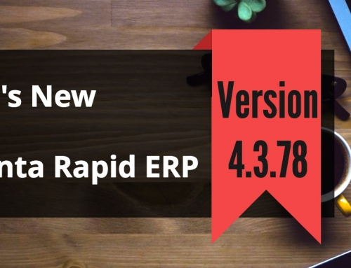 Attendance Management Software Advanta Rapid ERP Update 4.3.78