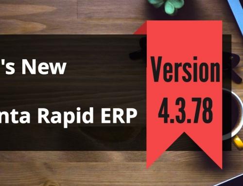 Attendance Management Software Advanta Rapid ERP Update 4.3.78