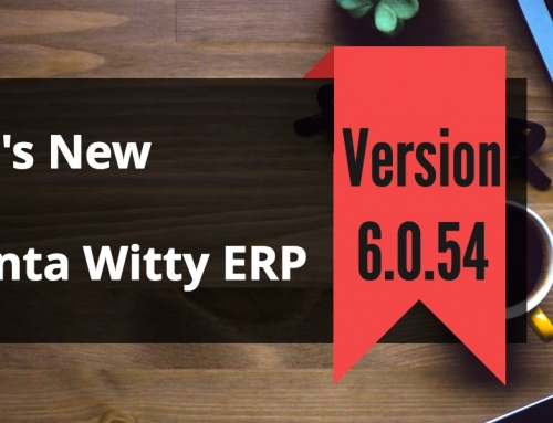VAT Reporting Software Advanta Witty ERP Update 6.0.54