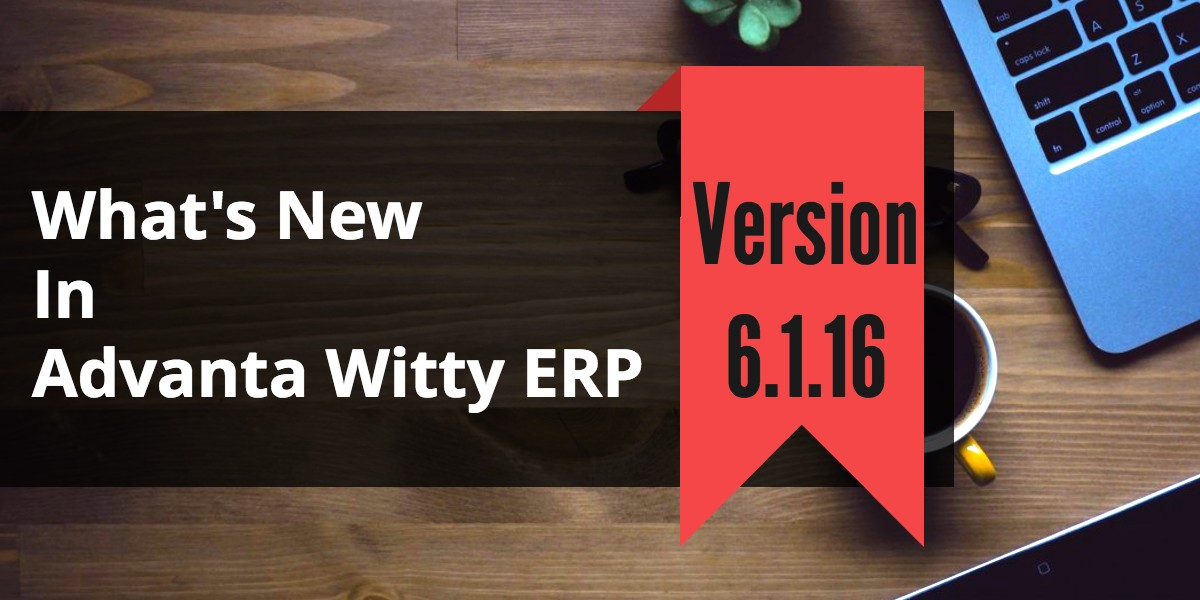 Small Business Account Software Advanta Witty ERP