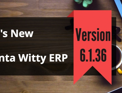 Invoice Generator Software Advanta Witty ERP Update 6.1.36