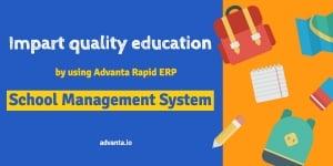 School Management System - Advanta Rapid ERP