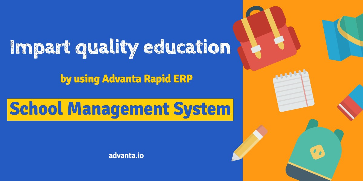 School Management System - Advanta Rapid ERP