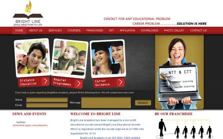 Business Website Design Development Sample 5