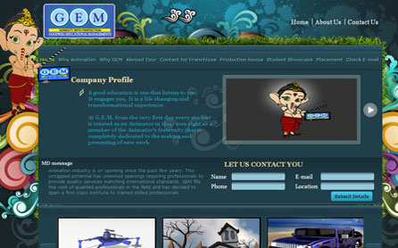 Business Website Development Sample 3