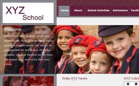 College Website Development