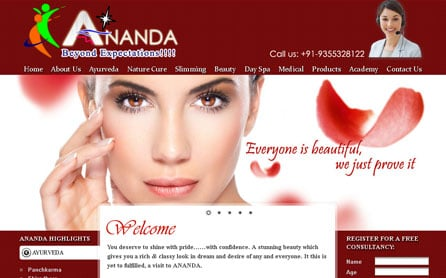 Website Design Sample 1